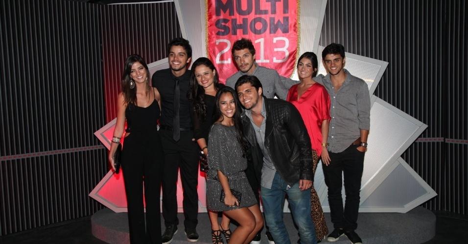 3.set.2013 - Famosos na festa do Prêmio Multishow 2013 no HSBC Arena na Barra da Tijuca, Rio de Janeiro
