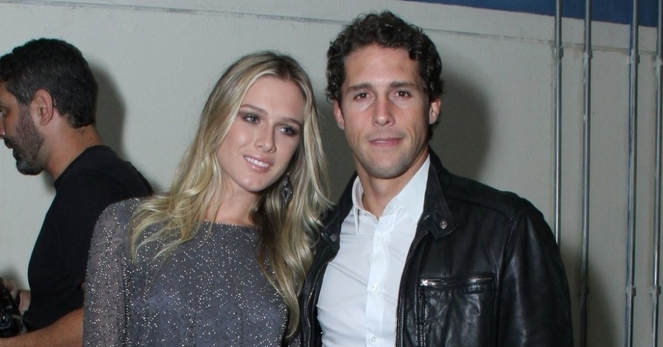 Flávio Canto e Fiorella Matheis na festa do Prêmio Multishow 2013