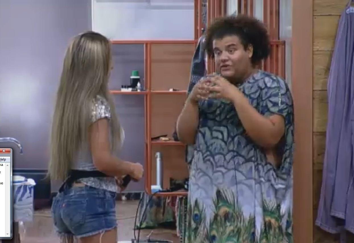4.set.2013 - Gominho queixa-se da permanência de Andressa na casa