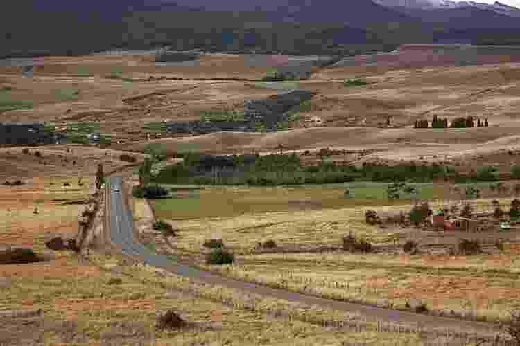 A região de Aysén, na Patagônia chilena, é cortada pela Carretera Austral, uma estrada de 1.240 km que liga a Região dos Lagos ao extremo sul do país - Eduardo Vessoni/UOL