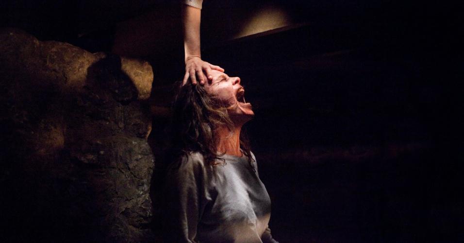 """Cena de """"Invocação do Mal"""", um dos filmes previstos para lançamento nos cinemas até 2014"""