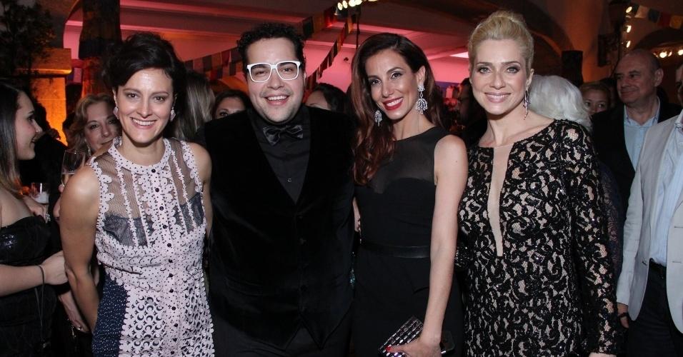 Claudia Missura, Tiago Abravanel, Tania Khalill e Letícia Spiller