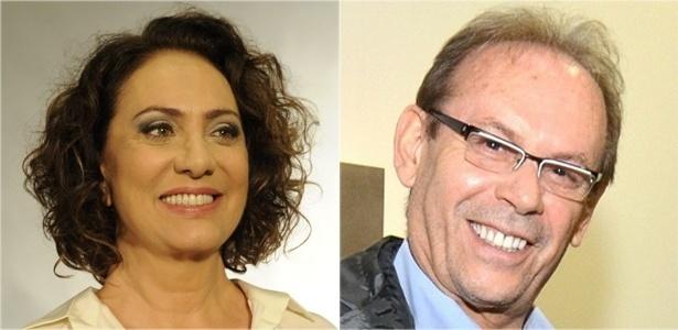 Eliane Giardini e José Wilker