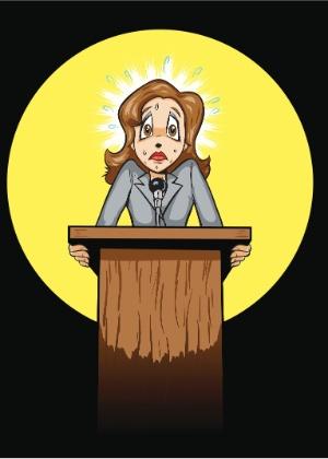 Falar bem em público é uma questão de prática. Para perder o medo, pare de fugir de apresentações - Thinkstock