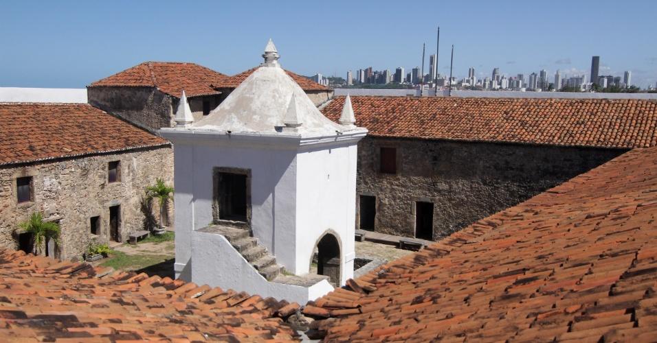 Forte dos Reis Magos, construído em 1599, é um dos pontos turísticos históricos mais visitados de Natal (RN)