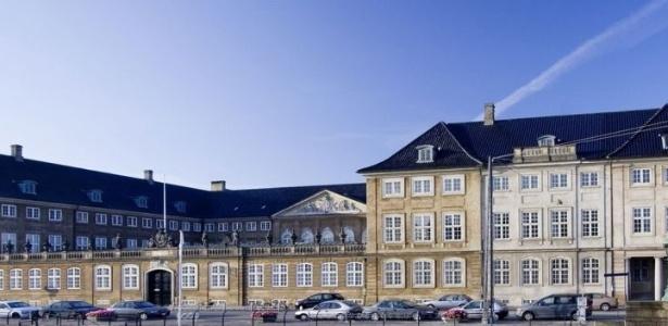 Museu Nacional da Dinamarca, no prédio construído em 1746, em Copenhague
