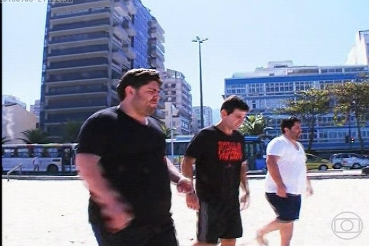 Participantes fazem exercício no medida certa