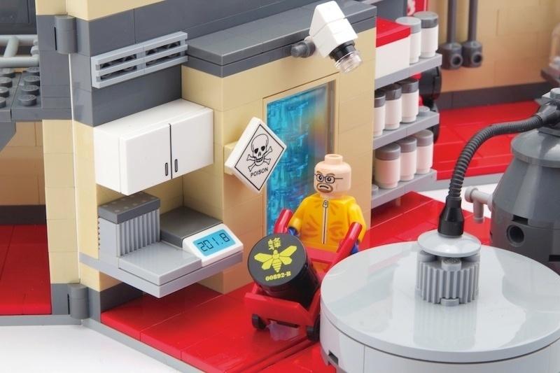 """Personagens e cenários da série """"Breaking Bad"""" viram brinquedos"""