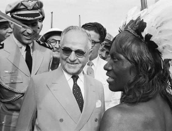 Getúlio Vargas, c. 1953, Xingu