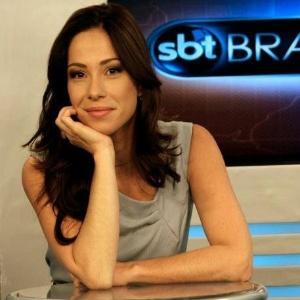 """A jornalista Neila Medeiros, que se mudou de Brasília para apresentar o """"SBT Notícias"""""""