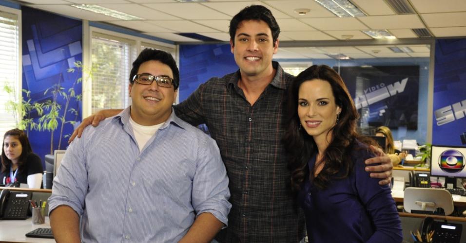 André Marques, Bruno de Luca e Ana Furtado