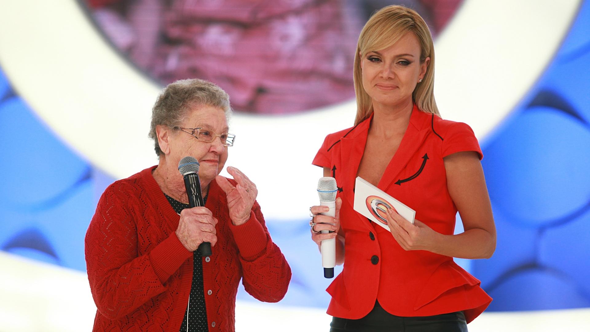 Eliana, no seu programa do próximo domingo, pelo SBT, faz uma homenagem à apresentadora Palmirinha