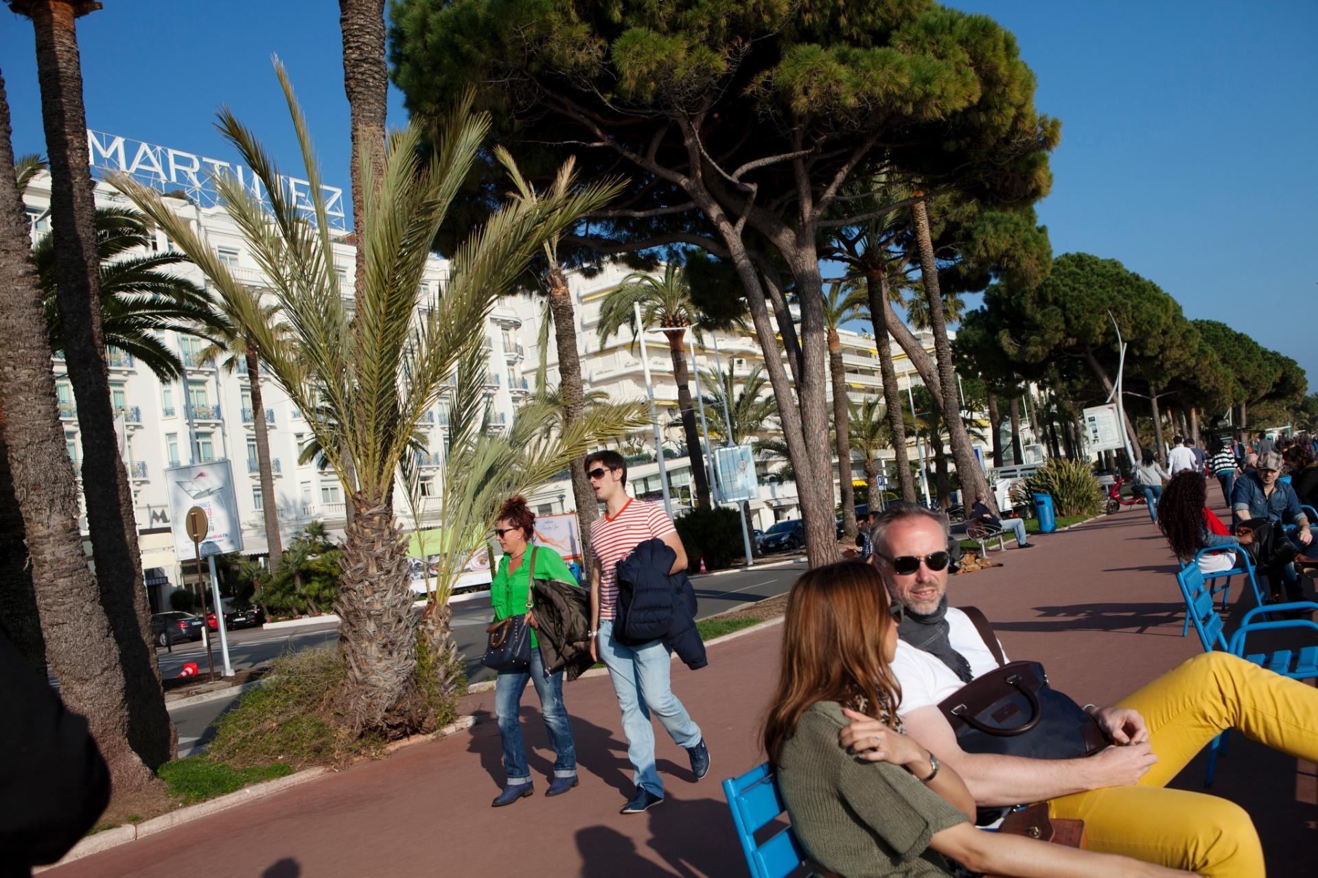 36 horas em Cannes, na França