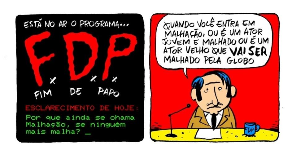 """13.set.2013 - """"Malhação"""" é o tema do programa """"F.D.P"""""""
