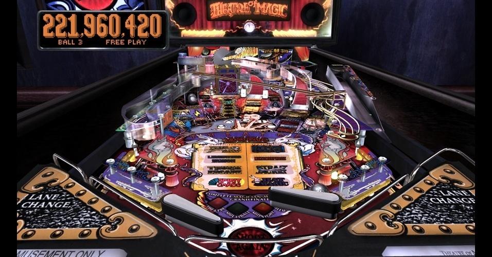 """As clássicas e viciantes mesas de """"The Pinball Arcade"""" chegam também ao PlayStation 4"""