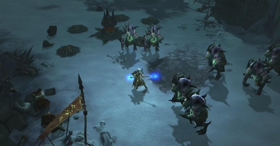 """""""Diablo III"""" chega também ao novo console da Sony"""