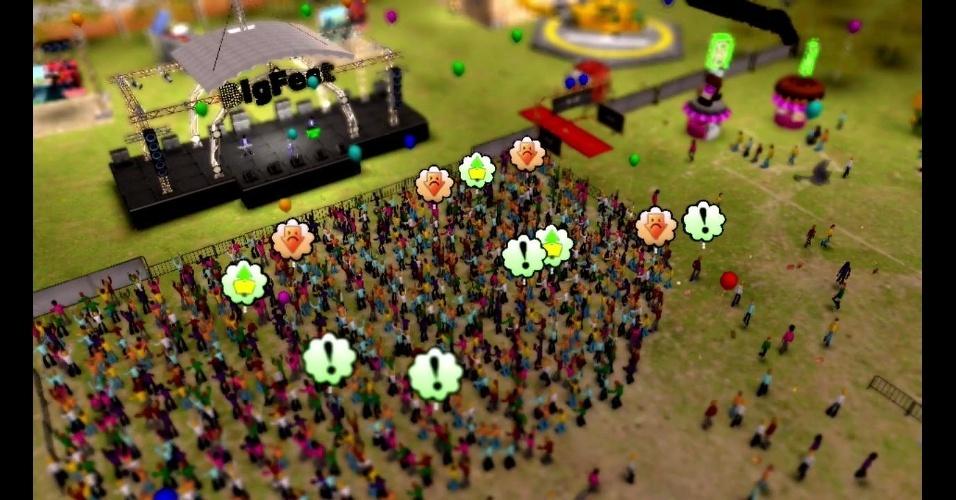 """Em """"Big Fest"""" você deverá promover grandes festas e festivais de música"""