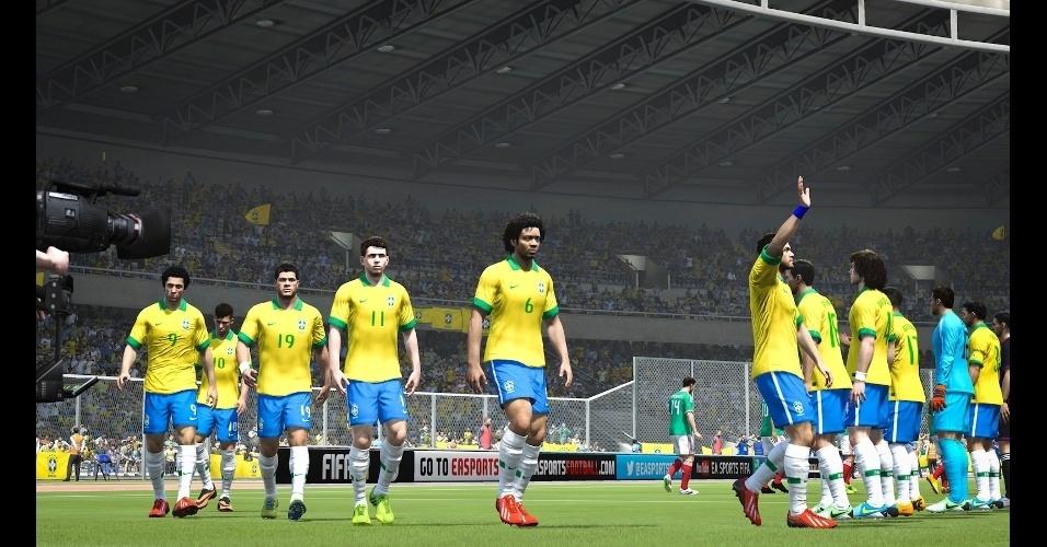 """""""Fifa 14"""" é o primeiro título da franquia de futebol lançado para a nova geração de consoles"""