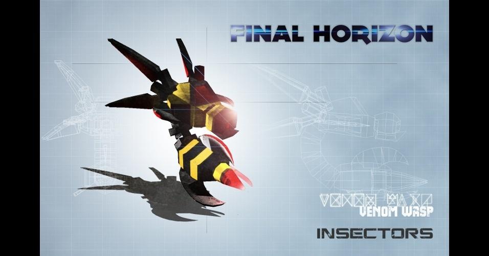 """""""Final Horizon"""" é um 'tower defense' em que os jogadores se defendem contra insetos robóticos"""