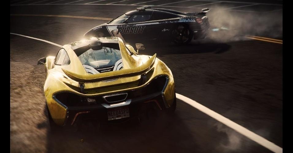"""""""Need for Speed Rivals"""" traz disputas entre pilotos e policiais em um mundo aberto"""