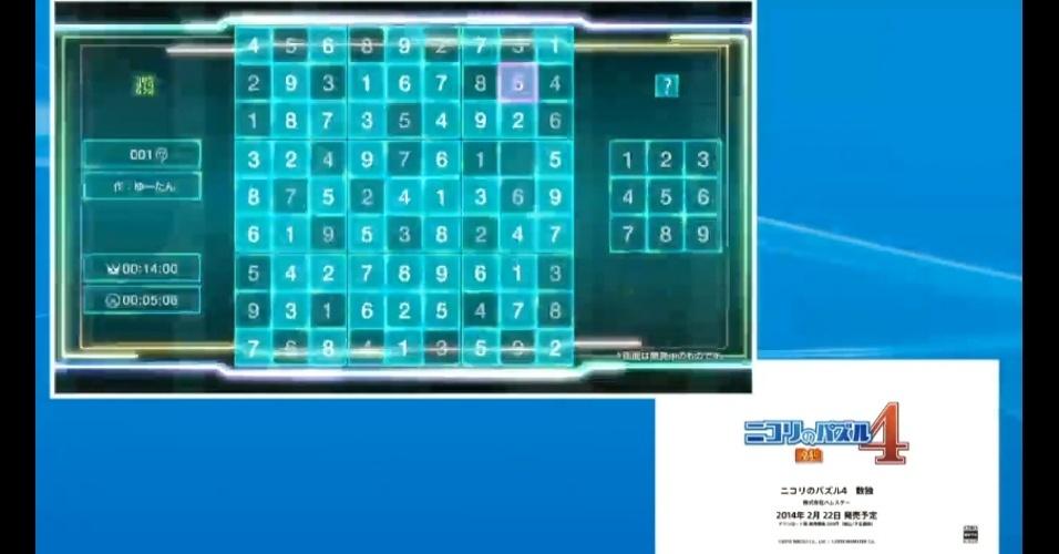 """""""Nikoli no Puzzle 4: Sudoku"""" leva a franquia de quebra-cabeças ao PlayStation 4"""