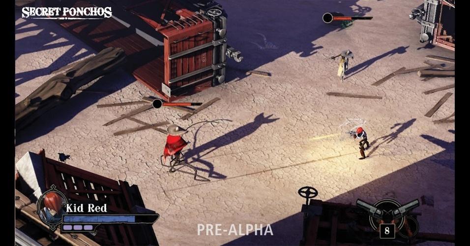 """""""Secret Ponchos"""" traz duelos entre jogadores e requer habilidade e precisão"""