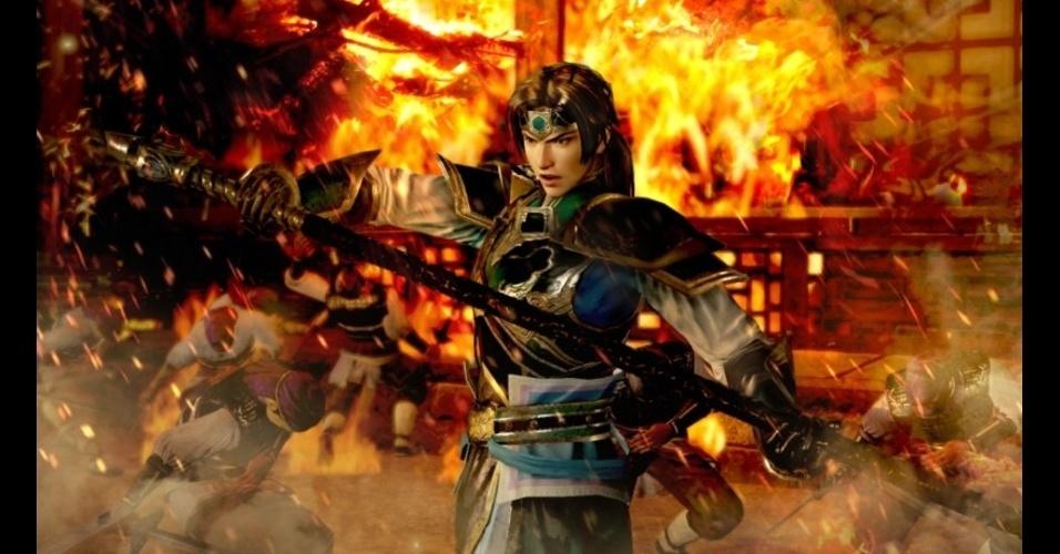 """""""Shin Sangoku Musou 7 with Musouden"""" é novo título da série """"Dynasty Warriors"""""""
