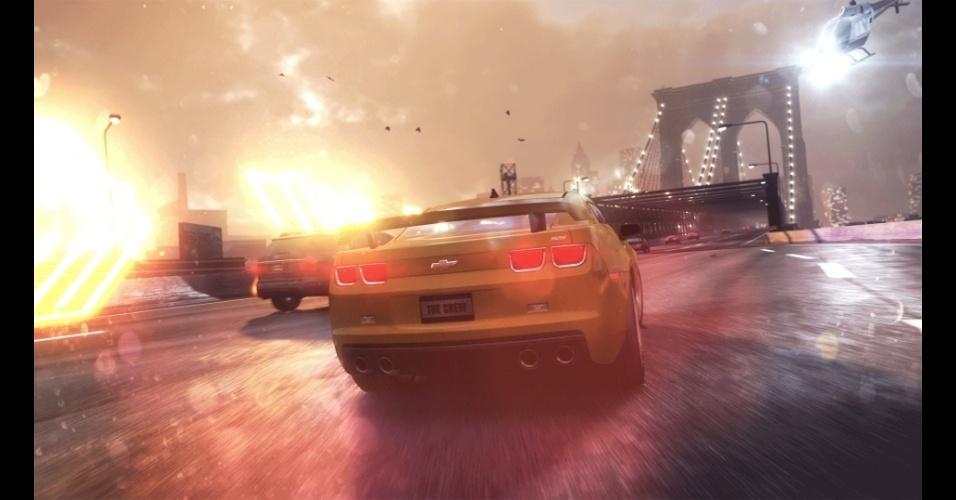 """""""The Crew"""" traz um mundo aberto e online em que é possível formar equipes carros para vencer desafios e outros jogadores"""