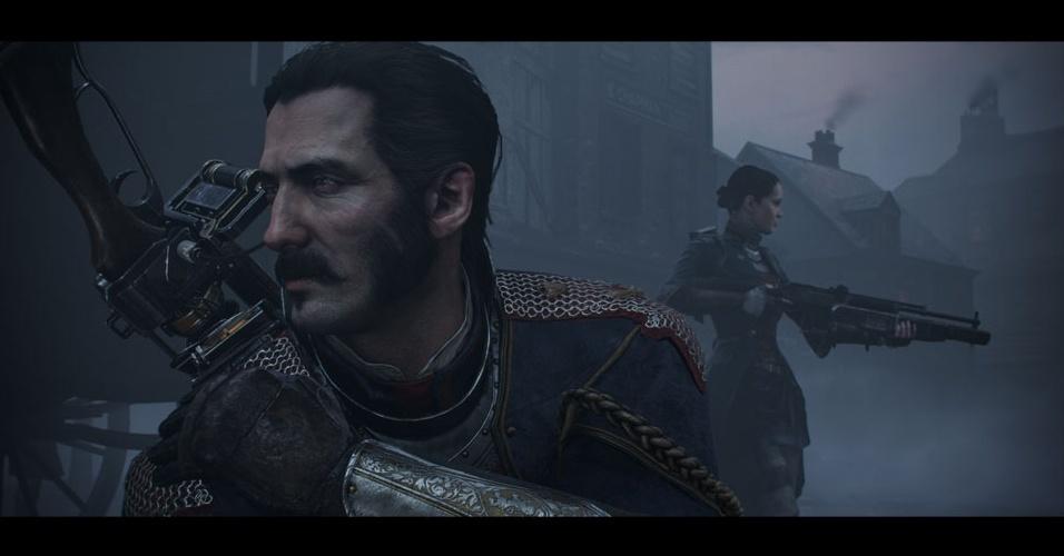 """""""The Order: 1866"""" (exclusivo do PS4) se passa em uma Londres em estilo steampunk e é produção da Ready at Dawn Studios, dos jogos de """"God of War"""" para o PSP"""