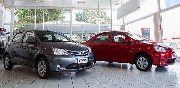 Linha 2014 do carro popular da Toyota chega às concessionárias no próximo dia 16 de setembro - Divulgação