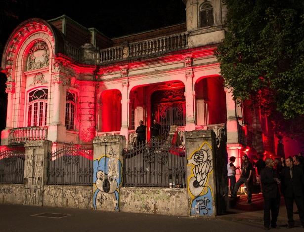 Fachada do Casarão Franco de Mello, na avenida Paulista, que será transformado em Museu da Diversidade Sexual - Rodrigo Capote/UOL