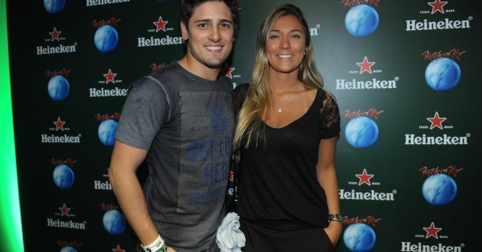 13.set.2013 - Daniel Rocha e Rafaella Cito na primeira noite