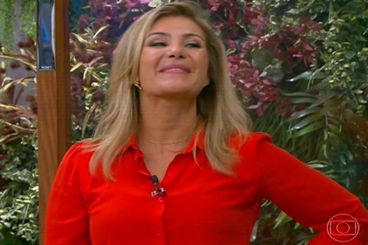 """13.set.2013 - Flávia Freire assume o lugar de Mariana Ferrão no """"Bem Estar"""", durante licença maternidade da jornalista"""