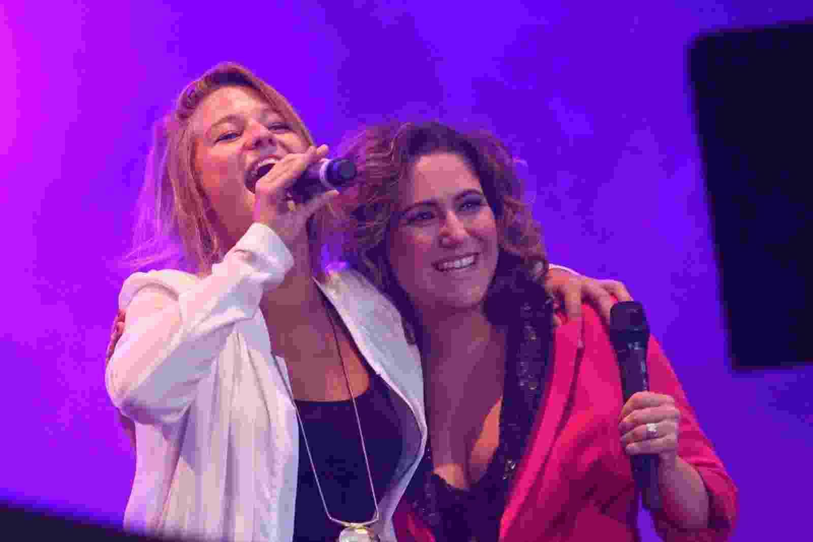 13.set.2013 - Maria Rita e Selah Sue se apresentam no Palco Sunset no Rock in Rio - Raphael Mesquita / Foto Rio News