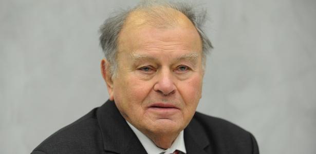 O escritor alemão Erich Loest durante evento em Berlim, em 2011 - Rainer Jensen/DPA/AFP Photo