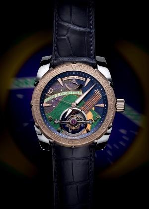 A relojoaria de luxo Parmigiani Fleurier celebra o Brasil com relógio feito à mão - Parmigiani Fleurier