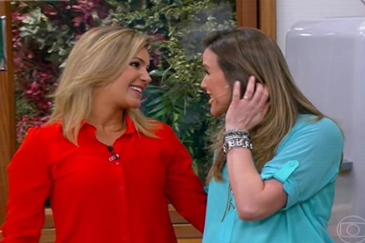 As jornalistas Flávia Freire e Mariana Ferrão