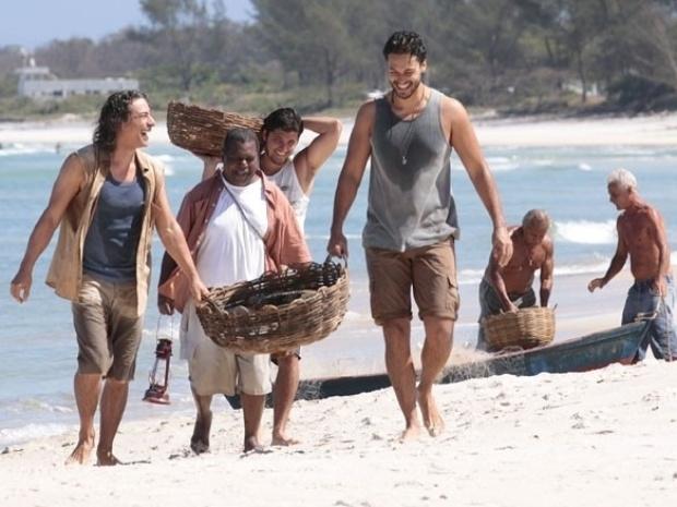 Em Flor do Caribe, Hélio volta a ser pescador