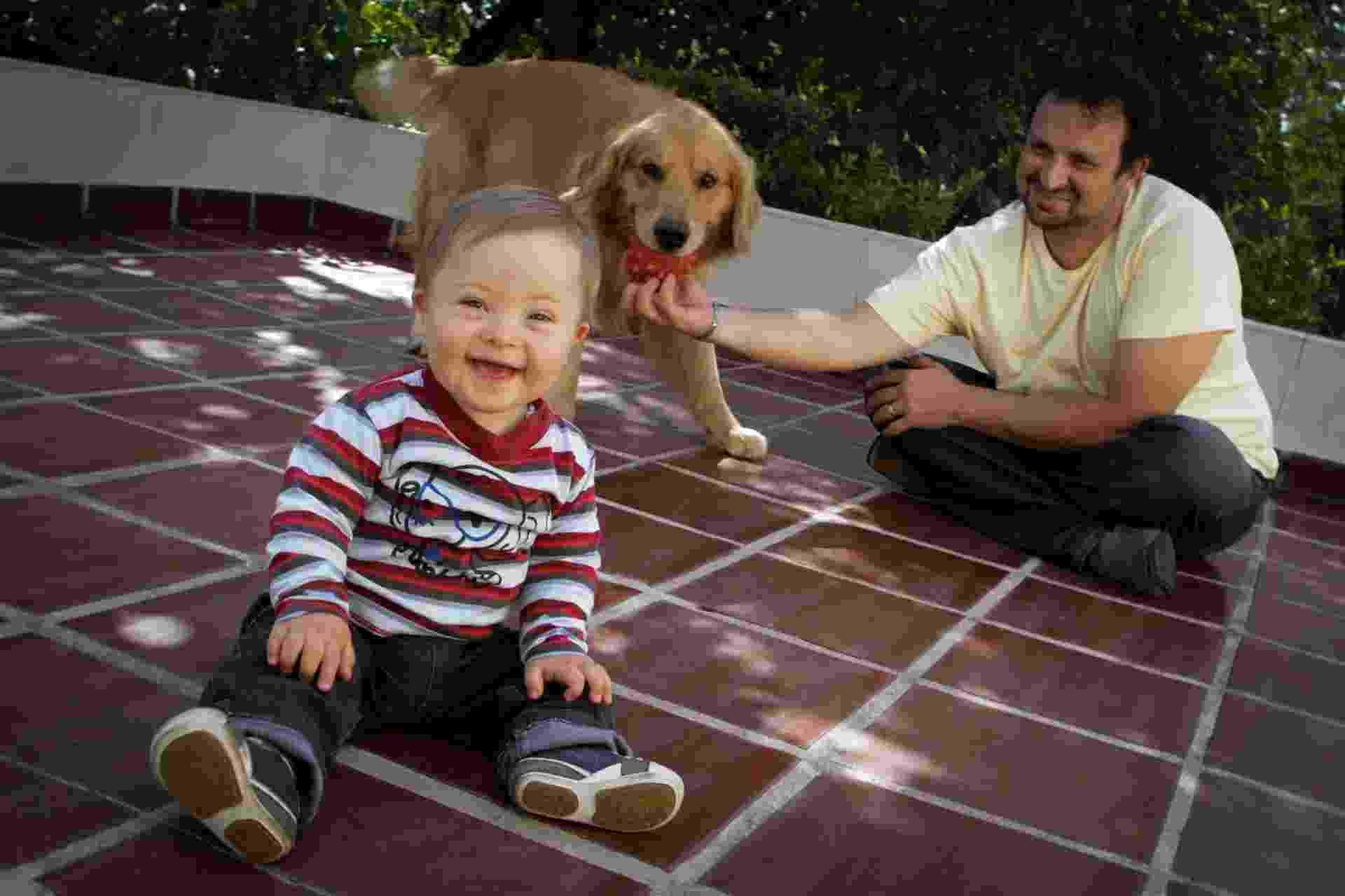 """Pedro, de um ano e três meses, que tem síndrome de Down"""" - Ricardo Lima/UOL"""