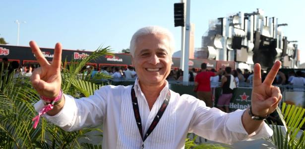 Roberto Medina, criador do Rock in Rio, fala da organização sobre o primeiro dia de show - Marco Antonio Teixeira/UOL