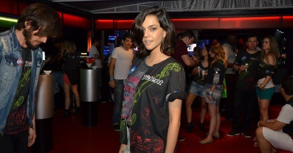 14.set.2013 - Tainá Müller prestigia segunda noite do Rock in Rio