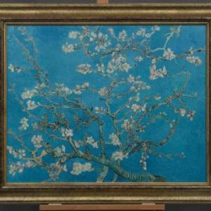 """A obra """"Amendoeiras em flor"""" (1890) de Van Gogh - Reuters"""