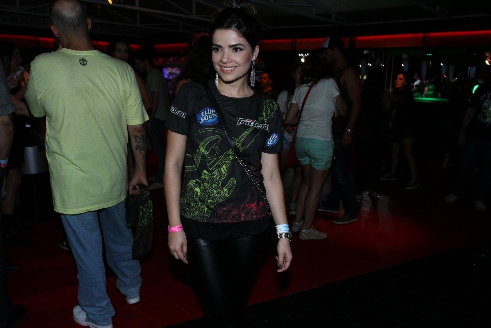 15.set.2013 - Vanessa Giácomo, que atualmente interpreta Aline em
