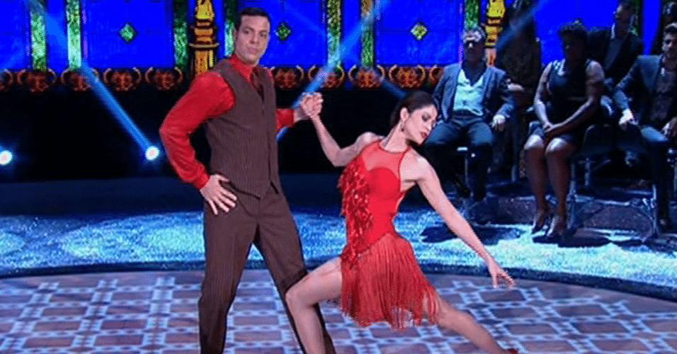 """Carol Castro na final da """"Dança dos Famosos"""""""