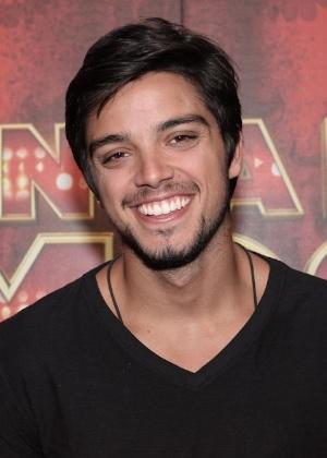 """O ator Rodrigo Dimas, na """"Dança dos Famosos"""""""