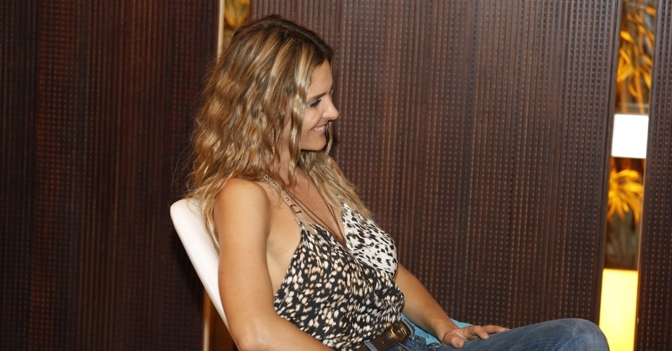 """16.set.2013 - Fernanda Lima lança 7ª temporada do programa """"Amor & Sexo"""""""