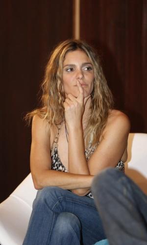 """16.set.2013 -Fernanda Lima lança 7ª temporada do programa """"Amor & Sexo"""""""