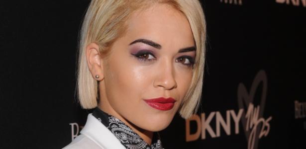Rita Ora: maquiagem própria com o clima de Londres - Getty Images