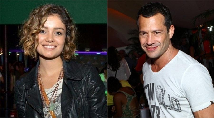 O ex-casal Sophie Charlotte e Malvino Salvador no Rock in Rio