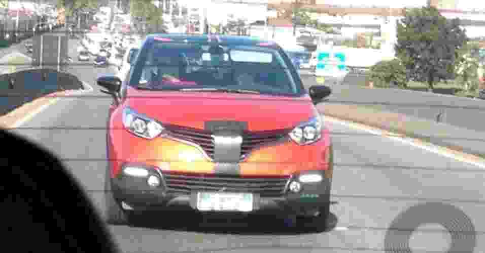 Renault Captur flagra - Carlos Alberto Rodrigues Dias/UOL